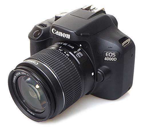 Imagen principal de Canon EOS 4000d 18?55See cámara, Negro