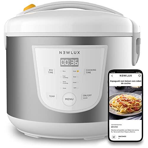 Imagen principal de NEWCOOK Robot de Cocina Multifunción, Capacidad 5 Litros, Programable