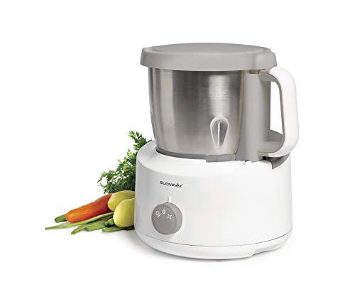 Imagen principal de Suavinex - Robot de Cocina Bebé 5 en 1: Cocina, Tritura, Calienta, De