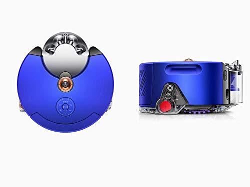 Imagen principal de Dyson - Aspiradora robot Heurist 360 en color níquel azul, aprende y