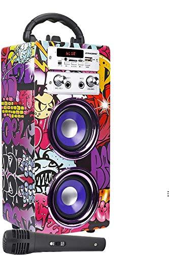 Imagen principal de DYNASONIC (3.ª generación) - Altavoz Karaoke Infantil para niños y