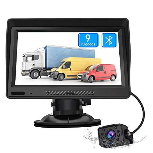 Imagen principal de AWESAFE Navegador GPS para Camiones y Coches con Bluetooth y Cámara T