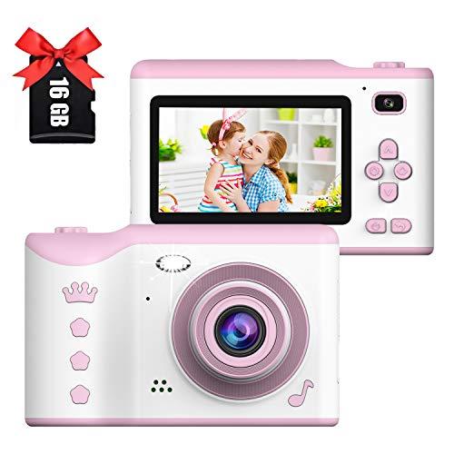 Imagen principal de Cámara Digital para niños, 1080P HD Video Cámara Selfie Mini Cámar