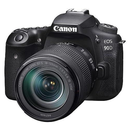 Imagen principal de Canon EOS 90D - Cámara Réflex de 32.5 MP (Sensor APS-C, 45 Puntos AF