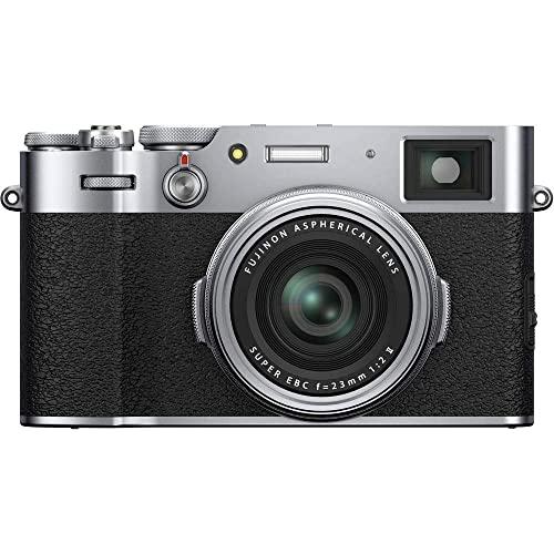 Imagen principal de Fujifilm X100V - Cámara con Sensor APS-C de 26.1 Mpx, Plateado, Color
