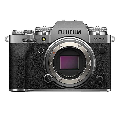 Imagen principal de Fujfilm X-T4 Cámara Digital sin Espejo de Objetivo Intercambiable, Co