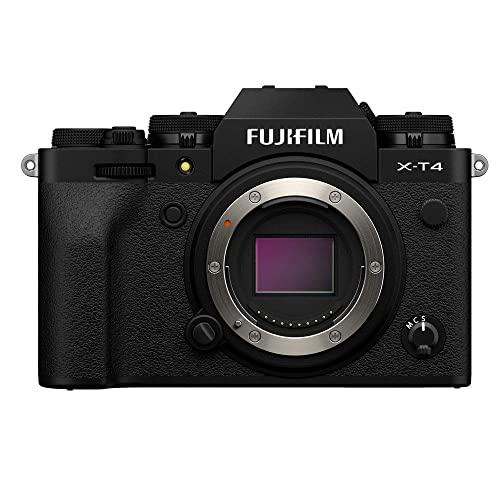 Imagen principal de Fujifilm X-T4 - Cámara Digital sin Espejo de Objetivo Intercambiable