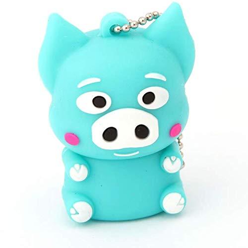 Imagen principal de SATYCON PENDRIVE USB3.0 32GB Cerdo Azul M.1789