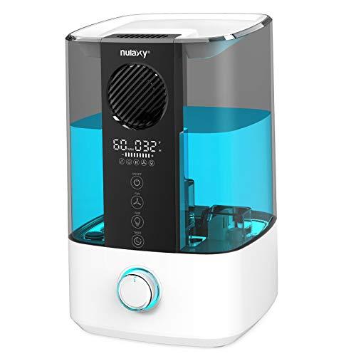 Imagen principal de Nulaxy Ventilador Superior Humidificador 4,5L con RGB, Humidificador c