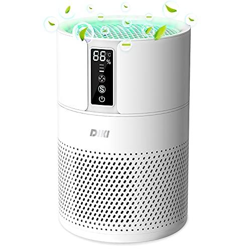 Imagen principal de Purificador de aire Anion, DIKI filtro de aire HEPA inteligente con in