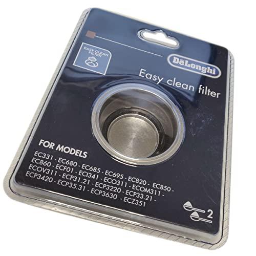 Imagen principal de Filtro para cafetera de 2 tazas De'Longhi (EC680, EC820, EC850, EC860,