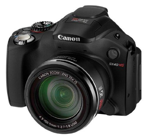 Imagen principal de Canon Powershot SX40 HS - Cámara compacta de 12 MP (Pantalla de 2.7,