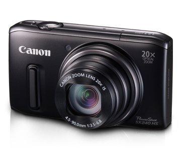 Imagen principal de Canon SX240 HS - Cámara compacta de 12.1 MP (Pantalla de 3, Zoom ópt