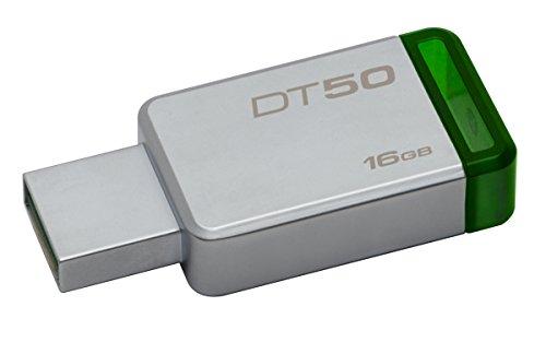 Imagen principal de Kingston DT50/16GB Llave Usb, 16 Gb, Verde