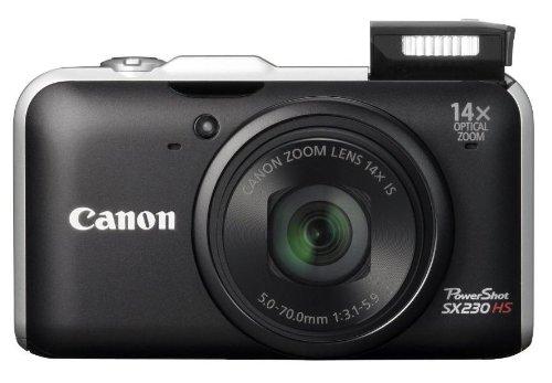 Imagen principal de Canon Powershot SX230 HS - Cámara compacta de 12 MP (Pantalla de 3, Z
