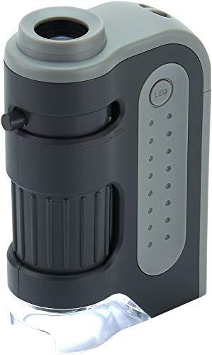 Imagen principal de Carson MicroBrite Plus - Microscopio de bolsillo, aumento 60x-120x, co