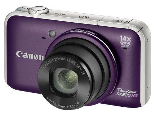 Imagen principal de Canon PowerShot SX220 HS - Cámara Digital Compacta 12.1 MP (3 pulgada