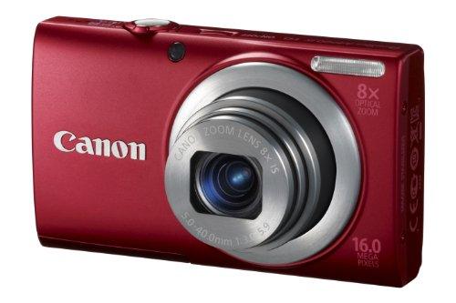 Imagen principal de Canon PowerShot A4000 IS Cámara compacta digital, rojo