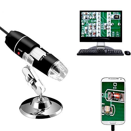 Imagen principal de Jiusion 40 A 1000 x endoscopio, 8 LED USB 2.0 Digital Microscopio, Min