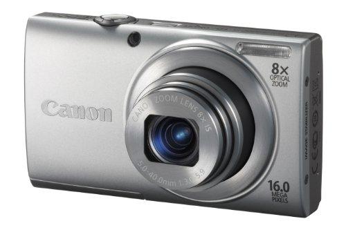 Imagen principal de Canon PowerShot A4000 IS Cámara compacta digital, plata