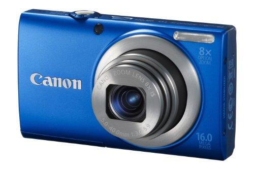 Imagen principal de Canon PowerShot A4000 IS Cámara compacta digital, azul