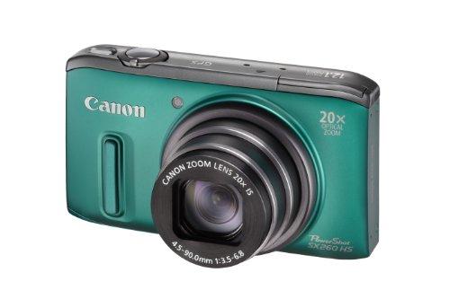 Imagen principal de Canon PowerShot SX260 HS - Cámara compacta de 12.1 MP (Pantalla de 3,