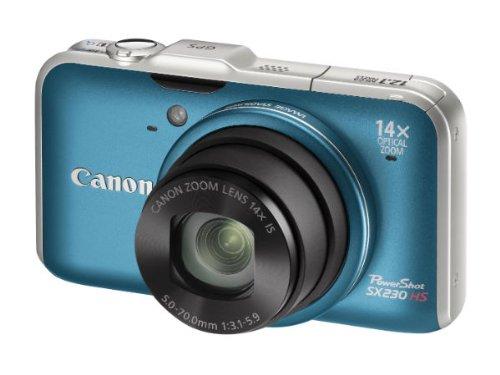 Imagen principal de Canon PowerShot SX230 HS - Cámara Digital Compacta - 12.1 MP - GPS -