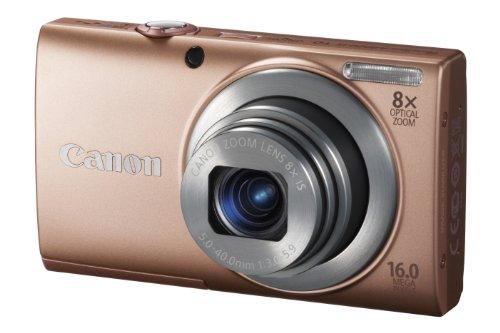 Imagen principal de Canon PowerShot A4000 IS Cámara compacta digital, rosa