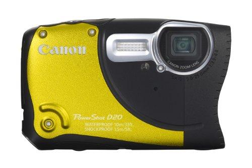 Imagen principal de Canon PowerShot D20 - Cámara Digital compacta de 12.1 MP (Pantalla de