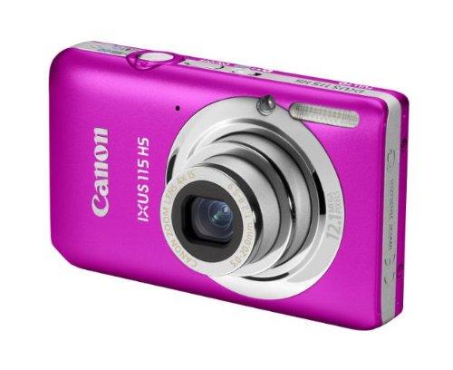 Imagen principal de Canon IXUS 115 HS - Cámara Digital Compacta 12.1 MP (3 Pulgadas LCD,