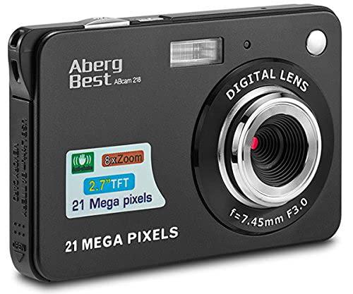 Imagen principal de Compactas Cámaras Digitales AbergBest 2.7 LCD Recargable HD Cámara D