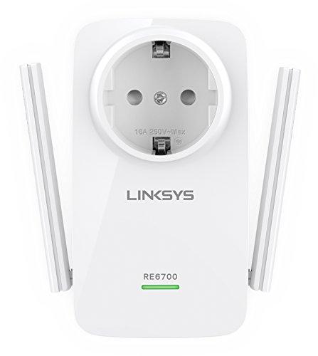 Imagen principal de Linksys RE6700-EG - Extensor de Red Wi-Fi de Doble Banda AC1200 Amplif