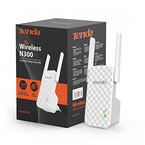 Imagen principal de Tenda N300 A9 Wireless Repetidor Extensor de Red WiFi Inalámbrico Amp