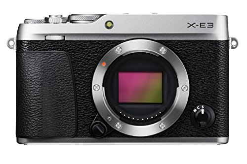 Imagen principal de Fujifilm X-E3 - Cuerpo de cámara EVIL de 24.3 MP, color plata