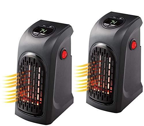 Imagen principal de ACLBB 2Pack Mini Enchufe LED Calentador Eléctrico, Calentador De Aire