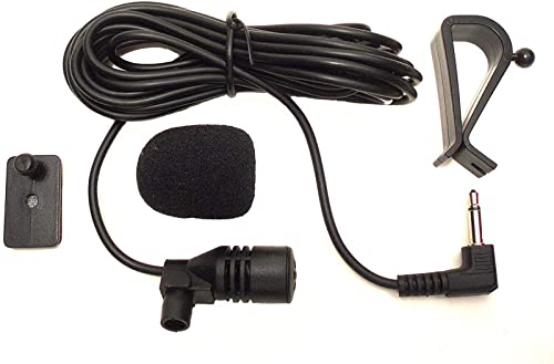 Imagen principal de Augustcoco - Micrófono de 3,5mm con montaje externo para coche, con