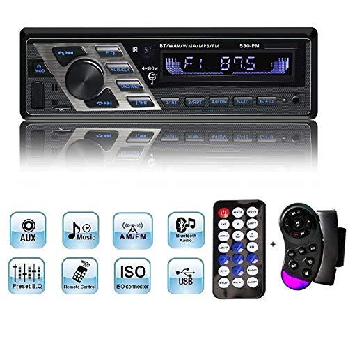 Imagen principal de Radio del Coche, YOSASO 4 * 80W Radio del Coche Reproductor de MP3 est