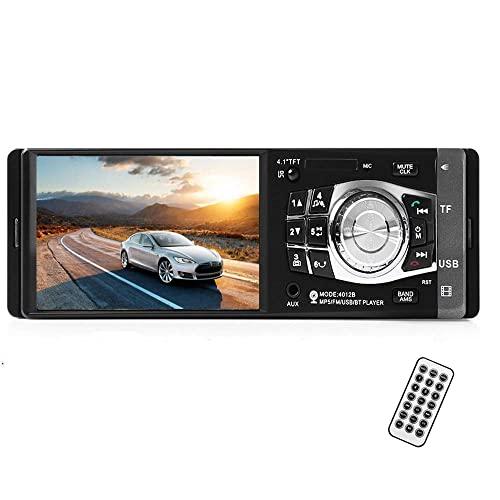 Imagen principal de Boomboost 1 DIN Car Radio Auto Audio Estéreo Autoradio Bluetooth USB