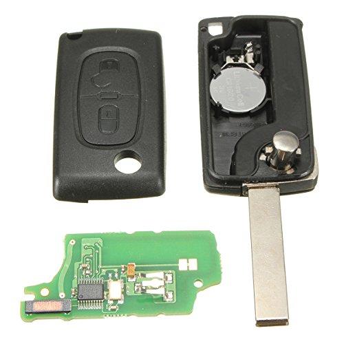 Imagen principal de KaTur 2 Botón - Carcasa de Repuesto para Llave con Mando para Citroen