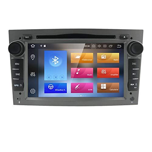 Imagen principal de HIZPO Grey Android 8.0 Quad Core System 4GB RAM GPS Navigation Car DVD