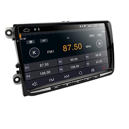 Imagen principal de HIZPO 9 2 DIN Coche estéreo Android 8.1 Receptor de vídeo GPS Radio