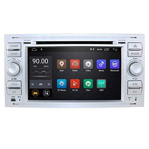 Imagen principal de hizpo 7 Pulgadas Android 10 Quad Core Car en Dash Radio Estéreo de Do