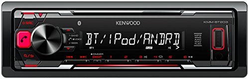 Imagen principal de Kenwood KMM-BT203 - Radio para coche, color negro