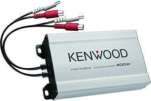 Imagen principal de Kenwood KAC-M1804 Amplificador de Potencia Digital de 4 Canales