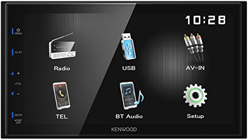 Imagen principal de Kenwood Electronics DMX110BT 50W Bluetooth Negro Receptor Multimedia p