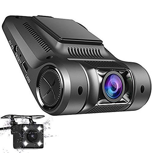 Imagen principal de Coche Dash Cam, Panlelo D1 Cámara de Vehículo HD 1080P Coche DVR 170