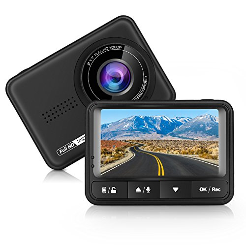 Imagen principal de Panlelo D4 Car Dash CAM Full HD 170 Degree Wide Angle Dashboard Camera