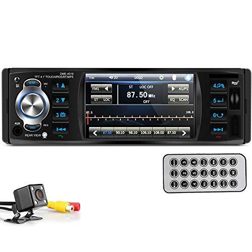 Imagen principal de PolarLander Autoradio Bluetooth, Manos Libres Estéreo de Coche, Llama