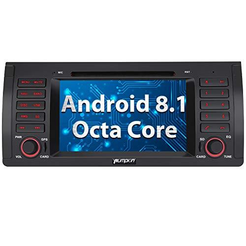 Imagen principal de Pumpkin Android 8.0 Autoradio GPS Navegador para BMW E39 soporta DVD/B