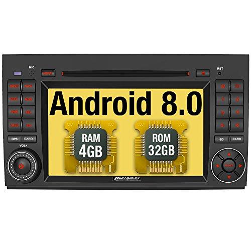 Imagen principal de Pumpkin Android 8.0 Autoradio GPS Navegador para Mercedes Benz A Class